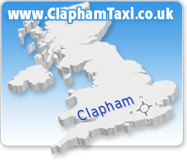 Clapham Taxi Transfers to anywhere in the UK